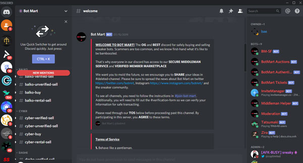 Is Botmart Discord Legit Here Is My Honest Review Shop the most successful bots to secure the most coveted sneakers, clothing, funkos, and more. is botmart discord legit here is my